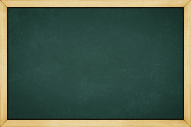 Blackboard with wooden frame, for background texture with copy space