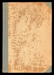 Blank antique book cover  rough