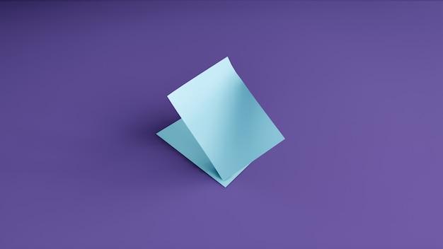 紫色の背景に空白のバナー