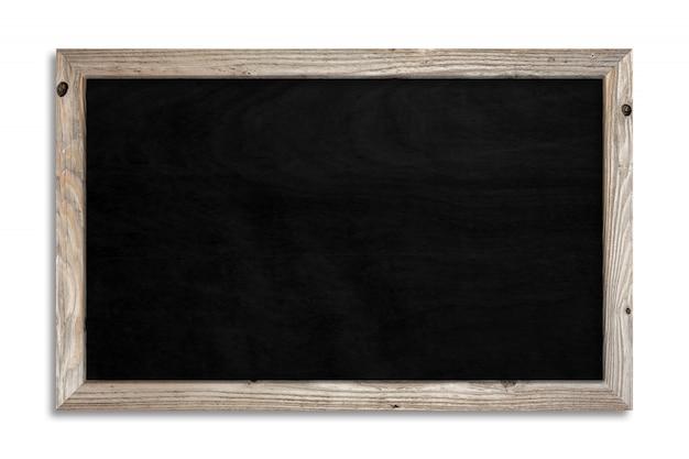 空白の黒い黒板
