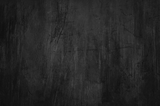 Blank blackboard background with scratches and dust.