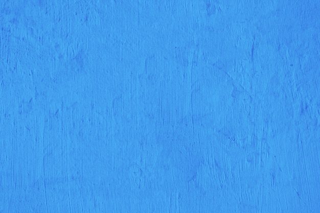 Blank blue concrete wall texture background