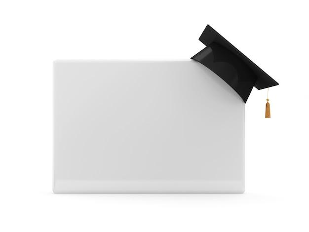 卒業キャップ付きブランクボード