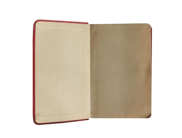 빈 책 페이지