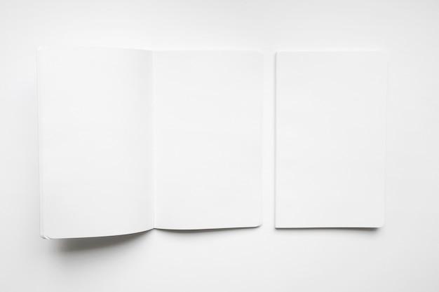 Blank brochure mockup