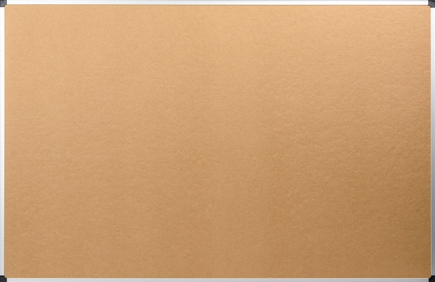 Пустая коричневая фанерная поверхность с алюминиевой рамой, место для копирования