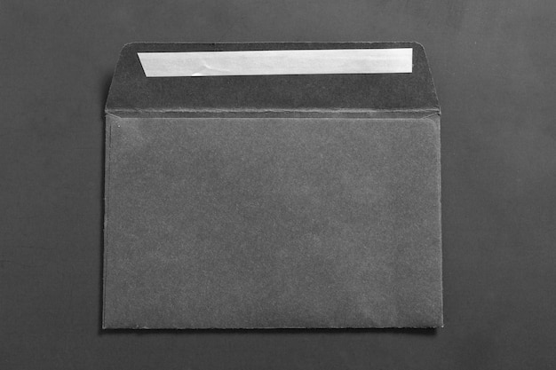 Blank business envelope