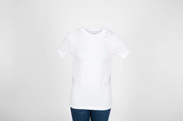 Blank clean t shirt