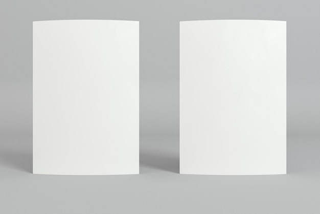 Пустая корпоративная копия пространства визитки вертикальное положение