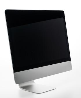 Blank desktop computer