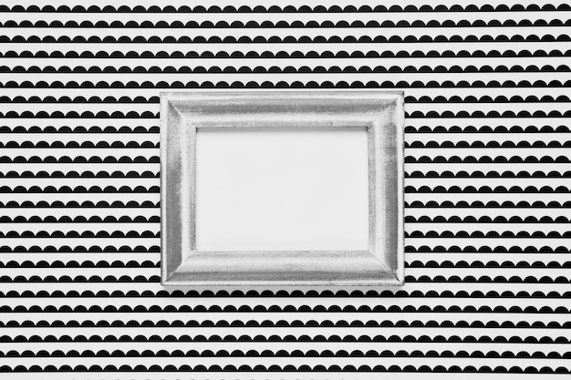 Blank frame with monochrome background