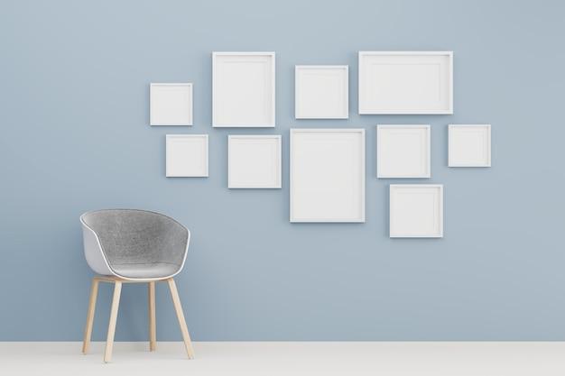 Пустая группа рамки для вставки текста или изображения