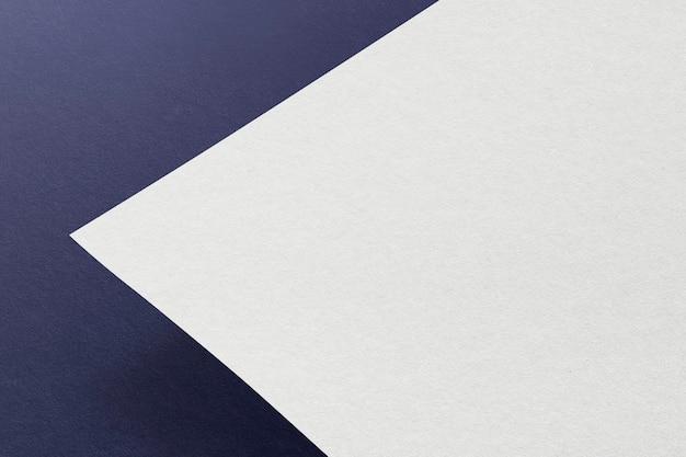 Blank letterhead for corporate identity design