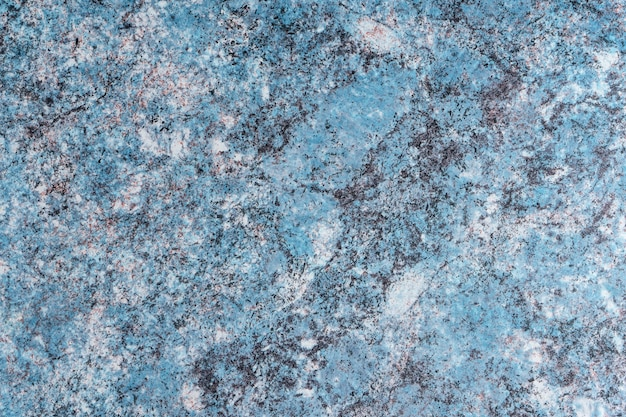 Blank marble texture blue background