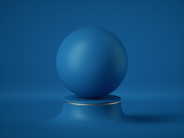 Blank opaque sphere