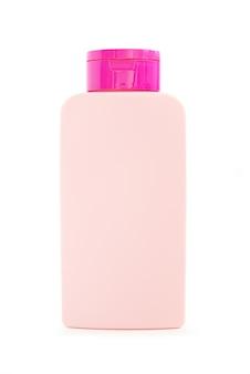 Пустые упаковочные бутылки, изолированные на белом фоне