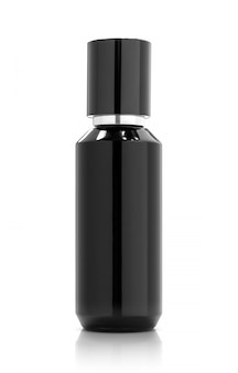 Blank packaging cosmetic spray bottle for product design mock-up
