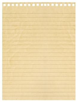 Пустая страница изолированных крупным планом