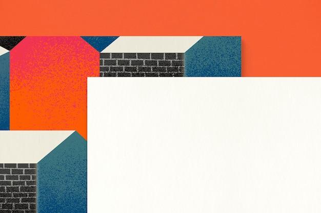 Carta bianca per il design dell'identità aziendale