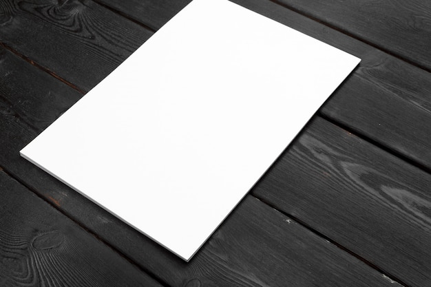 Blank paper or document for corporate letterhead