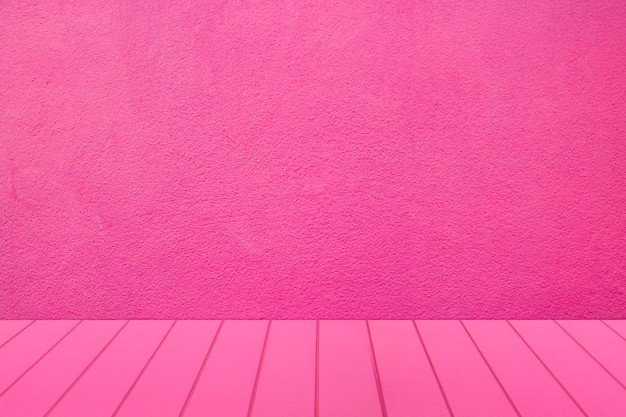 Blank pink room for display product