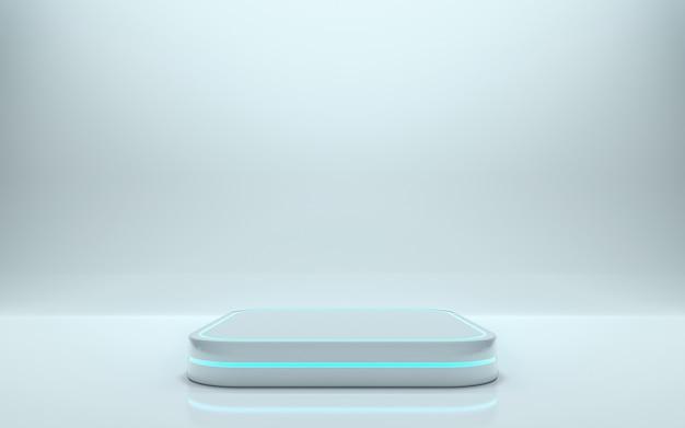 Пустой подиум для продукта. 3d-рендеринг - иллюстрация
