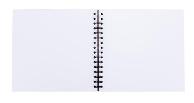 空白の現実的なスパイラルノート