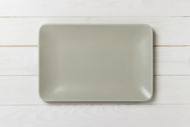 Blank rectangular plate