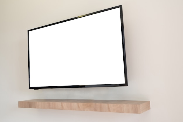Blank screen on television
