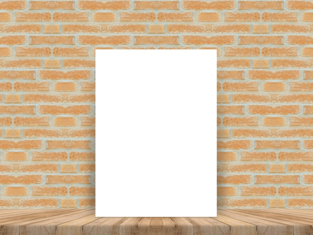 Blank sheet leaning against a wall
