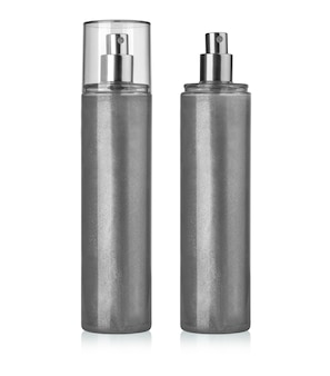 Blank spray can template with transparent cap for paint, hairspray, deodorant