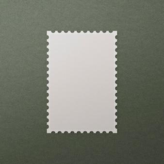 コピースペース付きの空白のスタンプ