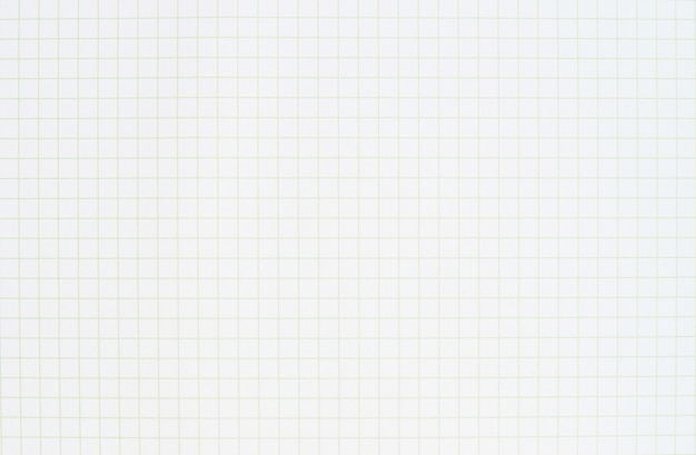 Blank striped notebook white paper line pattern. grid paper for graph design process of working.
