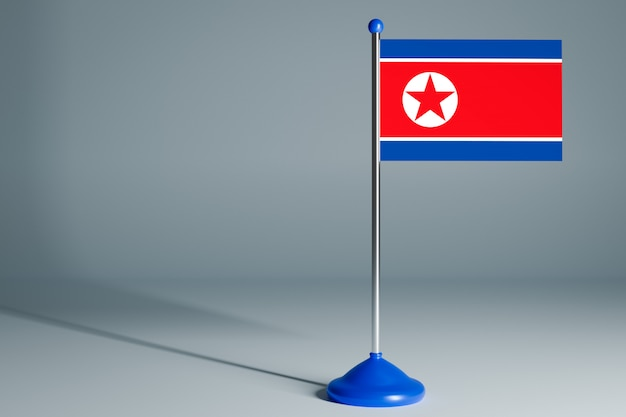 Blank table flag , suitable for design