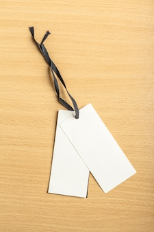 Blank tags for stores