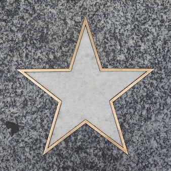 Пустая аллея звезды славы