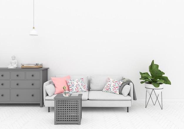 Blank wall - wall gallry background