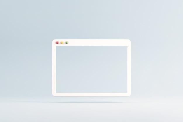 Пустой браузер