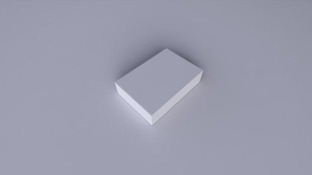 空白の白いボックス