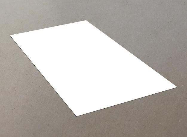 空白の白い紙a-4テクスチャの背景にチラシ