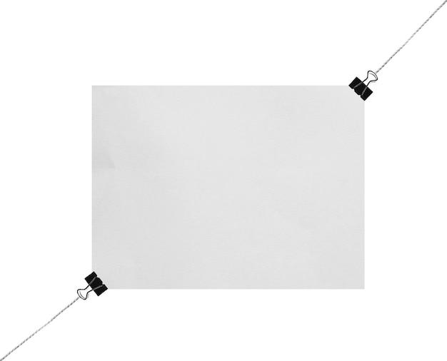 空白の白いプレゼンテーションボードまたは白い背景で隔離のサインモックアップ