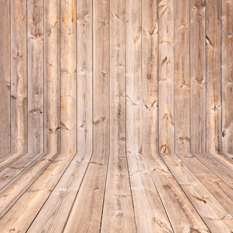 Blank wood shelf background textured for product or object montage display