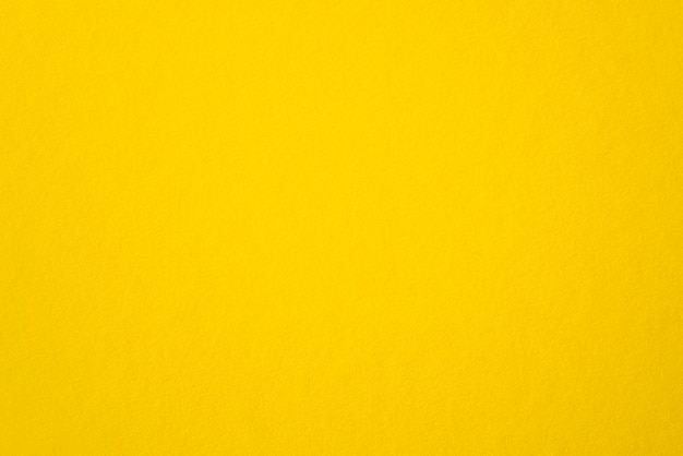 Blank yellow paper rough yellow sheet as texture or background