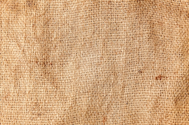 Blanket or curtain of cotton pattern background in beige brown color