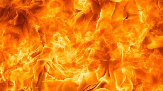 Blaze fire flame texture background in full hd ratio, 16x9