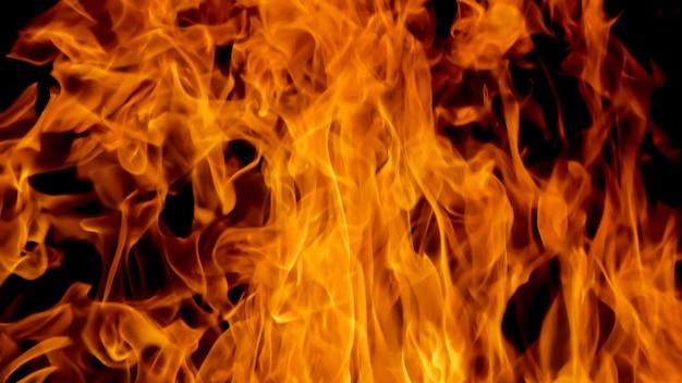 ブレイズ火炎テクスチャ背景