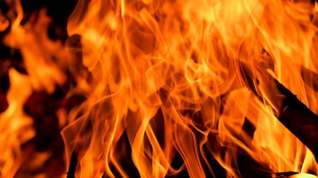 Пламя огня пламя текстуры фона