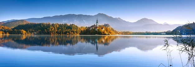 Bled in slovenia, europe