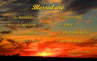 Blessed are