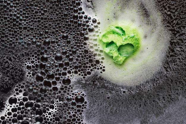 Blob of pear foam